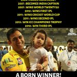 CSK Memes, CSK Won 2018, father, winning history, thala dhoni