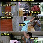 CSK Memes, CSK Won 2018, final, vadivelu, fan
