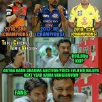 CSK Memes, CSK Won 2018, karan sharma, srikanth, MI, SRH, CSK