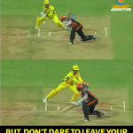 CSK Memes, CSK Won 2018, msd, stumping, williamson