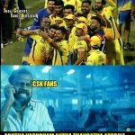 CSK Memes, CSK Won 2018, yellove, selfie, team