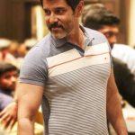 Chiyaan Vikram, charming, t shirt, young