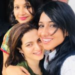 Dhivyadharshini, friend, team, girl friend