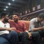 Ezhumin Movie Trailer Launch, Str, Karthi, Vishal, Friends, Happy