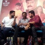 Ezhumin Movie Trailer Launch, vishal, karthi, simbu, speech