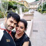 Ganesh Venkatraman - Nisha Krishnan, selfie, new look