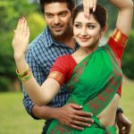 Ghajinikanth, Arya, Sayyeshaa Saigal, Green Saree, Hug, Love
