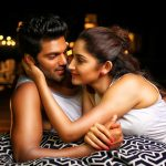 Ghajinikanth, Arya, Sayyeshaa Saigal, White Dress, Cute Couple