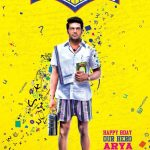 Ghajinikanth Official Posters, Arya, rajiniknath