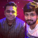 Harish Kalyan, ar rahman, selfie, event