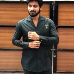 Harish Kalyan, black dress, new look