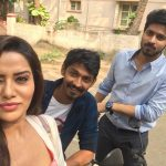 Harish Kalyan, raiza, selfie, shooting, 2018