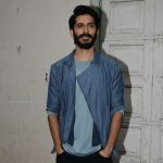 Harshavardhan kapoor in light blue over coat simple look (1)