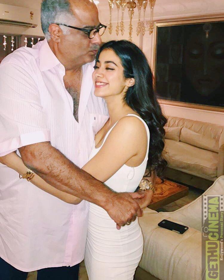 Janhvi Kapoor aka Jhanvi Kapoor, father, Boney Kapoor, love ...