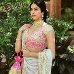 Janhvi Kapoor aka Jhanvi Kapoor, traditional dress, charming