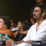 Kaala Audio Launch Event, dhanush, white dress, latha rajini