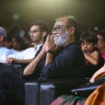 Kaala Audio Launch Event, rajinikanth, sitting