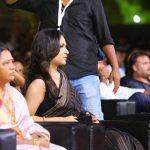 Kaala Audio Launch, Soundarya Rajinikanth, black saree