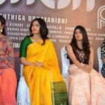 Kaali Movie Press Meet, sunaina, saree, heroine