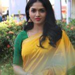Kaali, Press Meet, sunaina yellow saree, 2018