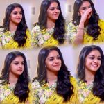 Keerthy Suresh, event, collage, 2018