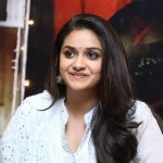 Keerthy Suresh, interview, white dress, smile