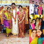 Keerthy Suresh, pattu pudavai, sister marriage