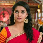 Keerthy Suresh, red saree