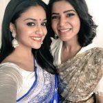 Keerthy Suresh, selfie, samantha