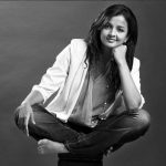 Kiruthiga Udhayanidhi, black and white