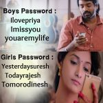 Love Failure Memes, vijay sethupathi, priya bhavani shankar, girls password, boys password