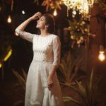 Madonna Sebastian, full size, white dress, hd, latest