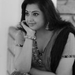 Meena, black and white