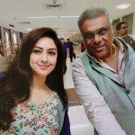 Nikesha Patel, Ashish Vidyarthi, shopping, selfie