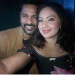 Nikesha Patel, prabhudeva, night, lover, birthday