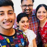 Nivetha Thomas, family, hd, selfie