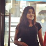Nivetha Thomas, latest, black dress