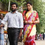 Oru Kuppai Kadhai,  Manisha Yadav, Dinesh, Husband, Wife, Street Walk