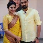 Prasanna, Sneha, Yellow Saree, Best Coupel