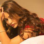 Priyanka Jawalkar,  Red Saree, Spicy