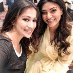 Raai Laxmi, Sushmita Sen, selfie