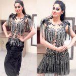 Raai Laxmi, event, glamour, black colour