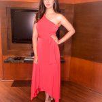 Raai Laxmi, full size, red dress