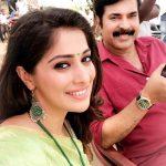 Raai Laxmi, selfie, with Mammootty, malayalam