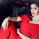 Raai Laxmi, wallpaper, photoshoot, red dress