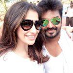 Raai Laxmi,selfie, with jai,  Actor jai,