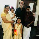 Rajinikanth, singers, family