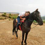 Reba Monica John, Beach, hourse Riding