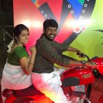 Rio Raj, bike, wife, Sruthi ravi