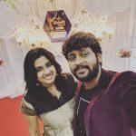 Rio Raj, selfie, sruthi ravi, wife